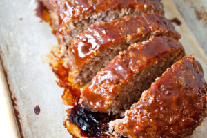 honey borboun meatloaf