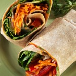 Avocado Honey Veggie Wraps- Thursday's BUZZworthy Recipe