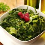 Mixed Greens with Honey Raspberry Vinaigrette- Thursday's BUZZworthy Recipe