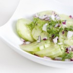 Honey Cucumber Salad- Thursday's BUZZworthy Recipe
