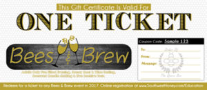 Bees & Brew Gift Certificate
