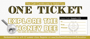 Explore The Honey Bee K-12 Gift Certificate