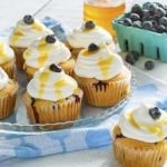 Honey Passion Fruit Blueberry Cupcakes: Wednesday's BUZZworthy Recipe