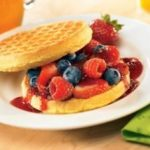 Honey Berry Waffle Sandwich: Wednesday's BUZZworthy Recipe