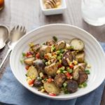 Grilled Potato Salad with Honey Chipotle Vinaigrette: Wednesday's BUZZworthy Recipe